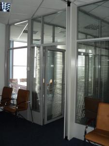Aluminium Stationary partitions0